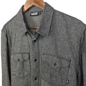 Vans Off the Wall Button Up Shirt Size Medium Mens